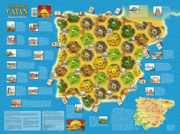 CATAN - Länderszenarien - Hispania Edition