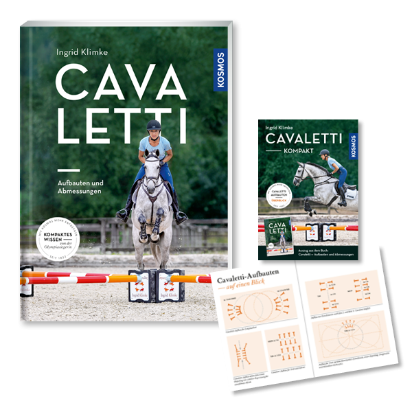 Cavaletti - Aufbauten und Abmessungen plus exklusives Trainings-Booklet