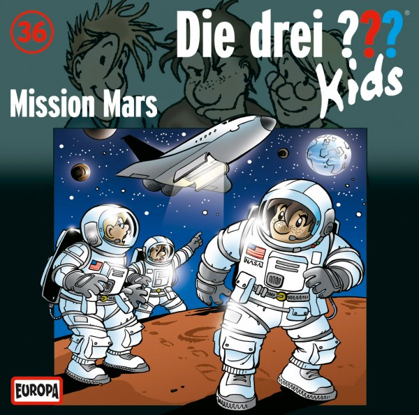 Die drei ??? Kids, 36, Mission Mars - Audio-CD
