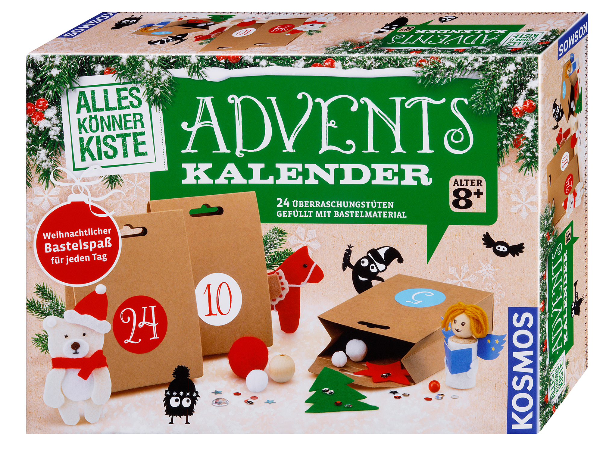 Bastel Adventskalender 2018