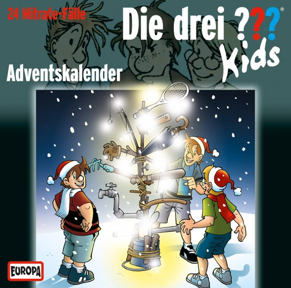 Die drei ??? Kids, Adventskalender - 2 Audio-CDs