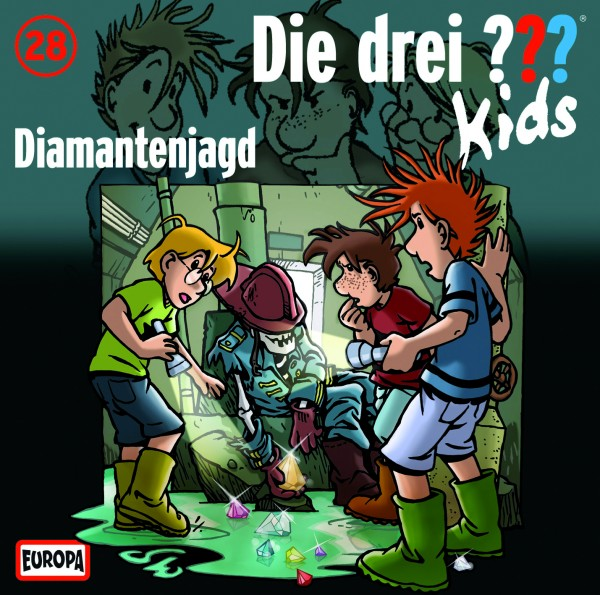 Die drei ??? Kids, 28, Diamantenjagd - Audio-CD