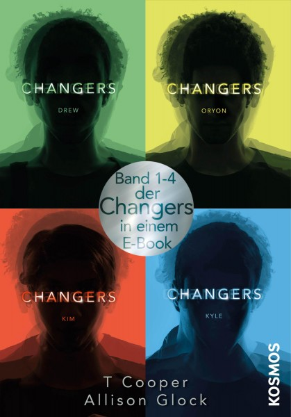 Changers: alle vier Bände in einem E-Book