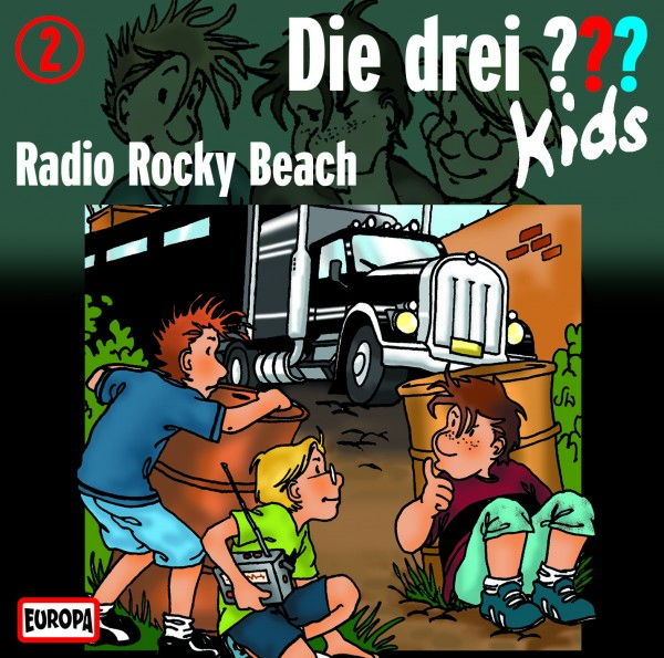 Die drei ??? Kids, 2, Radio Rocky Beach - Audio-CD