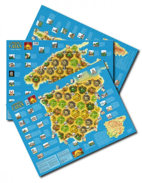 "CATAN – Länderszenarien-Set ""2012,2013,2014"""