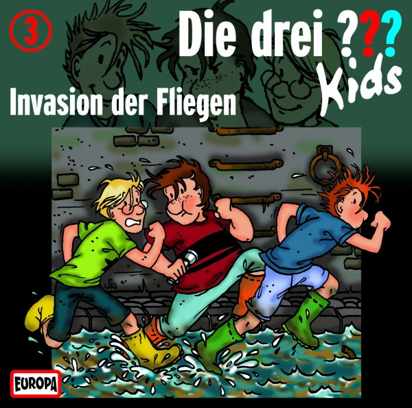 Die drei ??? Kids, 3, Invasion Fliegen - Audio-CD