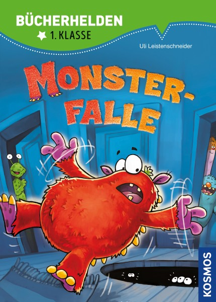 Monsterfalle, Bücherhelden