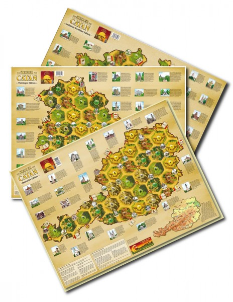 "CATAN – Länderszenarien-Set ""2008,2010,2011"""