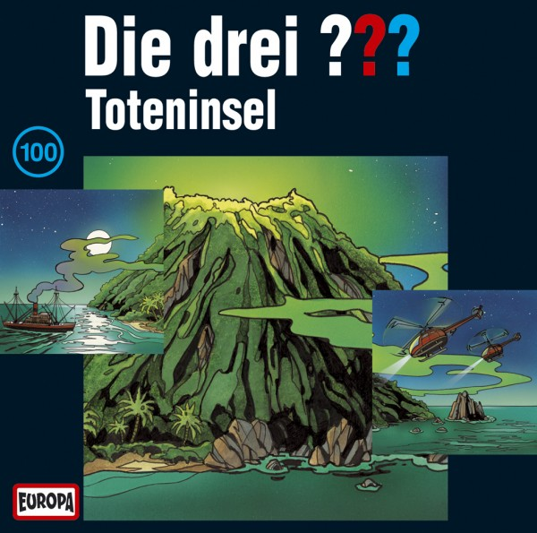 Die drei ??? Toteninsel, 100 - 3 Audio-CDs