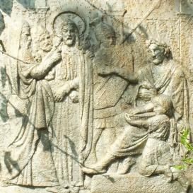 A várpalotai kálvária stációképei