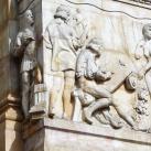 A Magyar Nemzeti Bank domborművei – Művészetek