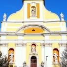 Piarista templom épületszobrai