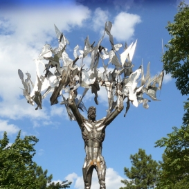 Prométheusz-szobor