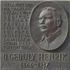 Geduly Henrik emléktáblája
