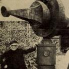 Komarov emlékmű