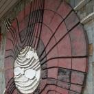 Halak – mozaik dombormű
