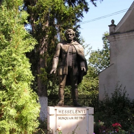 ifj. Wesselényi Miklós szobra