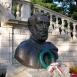 Széchenyi-mellszobor és emlékmű