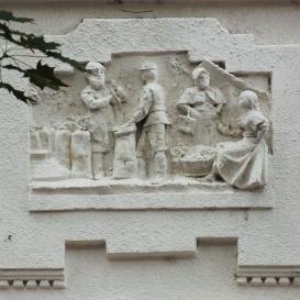 A Lőwy Károly-ház épületdíszei