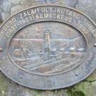 Az első zalai olajkutató-fúrás emléktáblája