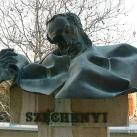 Széchenyi István-mellszobor