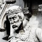 Országház - nyugati homlokzat: II. (Vak) Béla