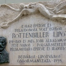 Rottenbiller Lipót-emléktábla