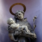 Szent Ferenc sebei-templom szobordíszei