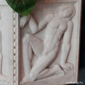 Schiffer-villa márvány virágmedencéje