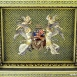 Országház - díszlépcsőház: Magyarország címere