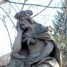 Fájdalmas Krisztus-szobor