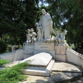 Hilbert Ferenc síremléke