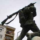 Első és második világháborús emlékmű