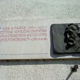 Kós Károly-emléktábla