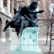 Csongor-szobor