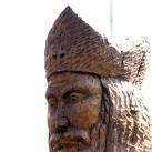 Szent Miklós püspök szobra