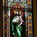 A Kisboldogasszony Bazilika szentélyének üvegablakai