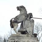 Címertartó oroszlánok