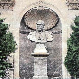 Wenckheim Béla-mellszobor