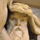 A Széchényi Könyvtár aulájában látható Atlaszok