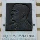 Bajcsy Zsilinszky Endre-emléktábla