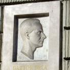 Bartók Béla domborműves emléktábla