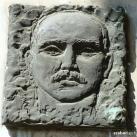 Oláh Gábor domborműves emléktábla
