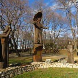 Befogadó Krisztus, Szent István és Padányi Biró Márton-szoborcsoport