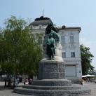 Prešeren költő szobra