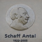 Schaff Antal emléktáblája