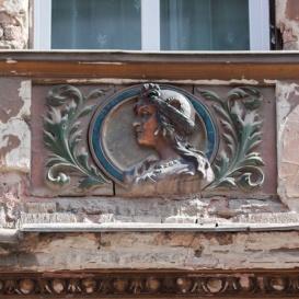 A Rózsa utca 45. Zsolnay-épületkerámiái