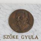 Szőke Gyula-emléktábla