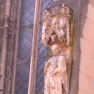 Szentek szobrai - Fekete templom