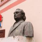 Alois Kolísek-mellszobor